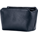 Softpouch magnetic-closer, size S, leather, blue