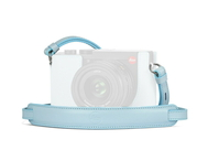 Carrying Strap-Q2, leather, light blue