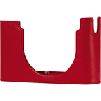 Protector D-Lux 7, leather, red