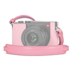 Carring Strap Q2, leather, pink/light