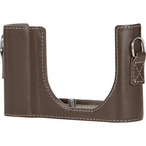 Protector C-Lux, leather, taupe