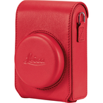 Case C-Lux, leather, red