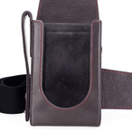 Holster, leather, stone grey for Leica TL