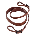 Leica Q-P carrying strap, leather, brown