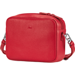 Handbag Andrea C-Lux, leather, red