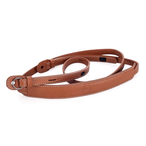 Carryng strap with prot. flap for M and X cognac